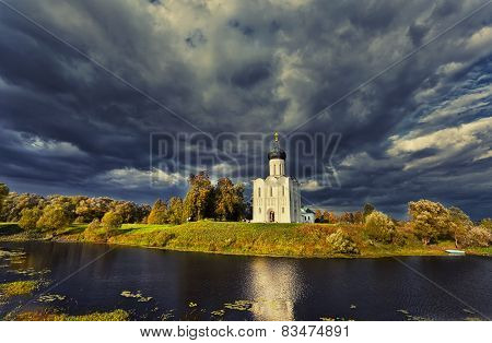 Church Of The Intercession Of The Holy Virgin On The Nerl River, Bogolubovo, Russia