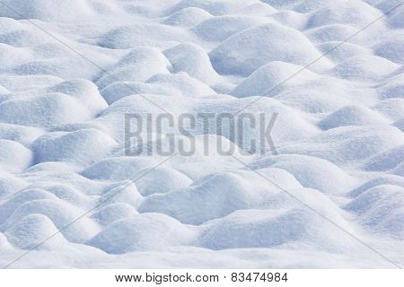 Snow Ground Wave Bump