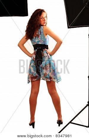 Model In Studio