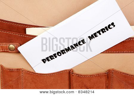 PERFORMANCE METRICS document
