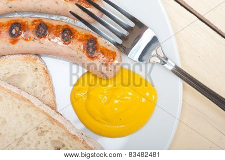 Traditional German Wurstel Sausages