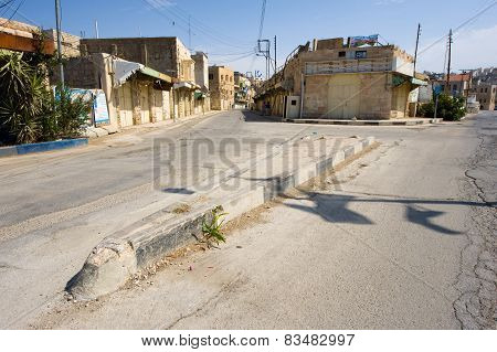 Street In Hebron