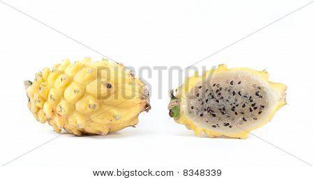 Gelbe Pitaya aus Südamerika