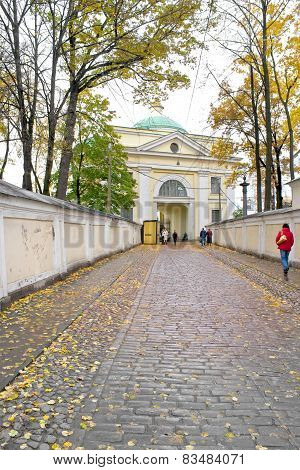 Passage Of Alexander Nevsky Lavra