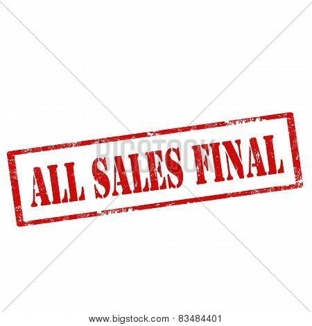 All Sales Final-stamp