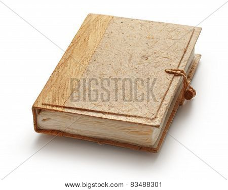 Blank Photo Album With Wooden Cover