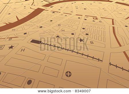 Brown Streetmap