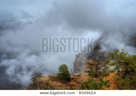 Grand Canyon Fog