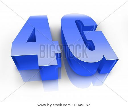 4G Network in 3D