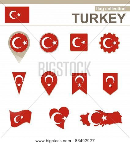 Turkey Flag Collection