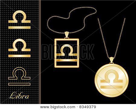 Libra Medallion & Pendant