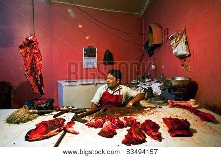 Nepalese Butcher