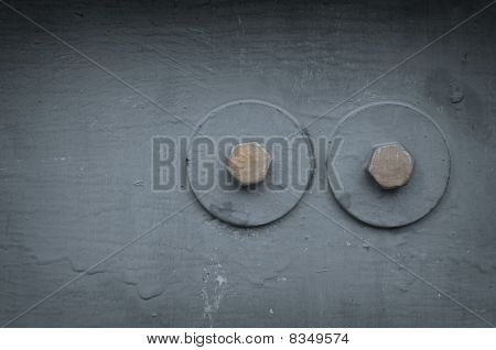 Grungy Metal Background