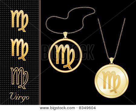 Virgo Medallion & Pendant