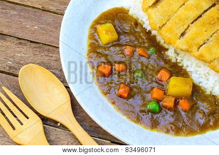 Japanese Curry And Tonkatsu