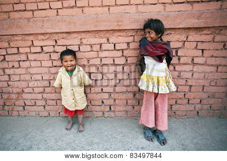 Children In Poverty, Nepal