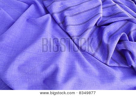 The Texture Of Sirevoy And Striped Fabric