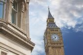 Постер, плакат: Elizabeth Tower Or Tower Of Big Ben In London
