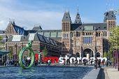 Постер, плакат: Rijksmuseum In Amsterdam Netherlands