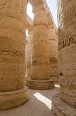 picture of ptolemaic  - Columns in Precinct of Amun - JPG