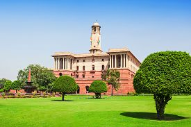 picture of rashtrapati  - Rashtrapati Bhavan is the official home of the President of India New Delhi India - JPG