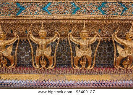 Garuda In Wat Phra Kaew, Thailand.