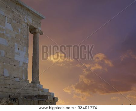 Acropolis Greece Athena Victory ancient temple