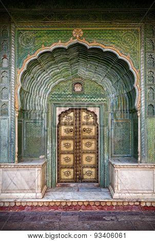 Green Gate In Jaipur