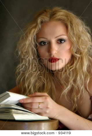Portrait With Book