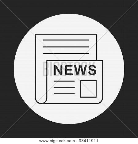 News Line Icon