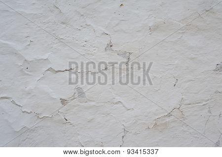 White vintage wall.