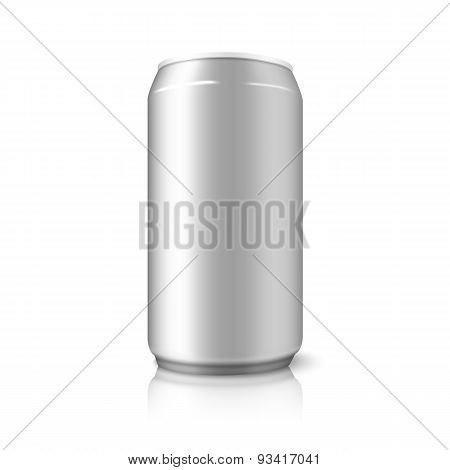 Blank vector aluminium can, for different designs of beer, alcohol, soft drinks, soda, water etc.