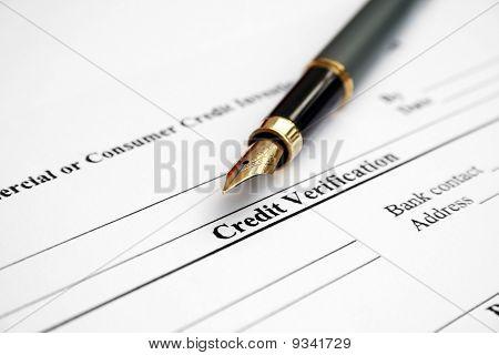 Verificação de crédito