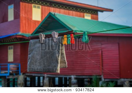 Dry Clothes in the Sun