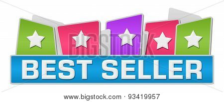 Best Seller Colorful Squares On Top