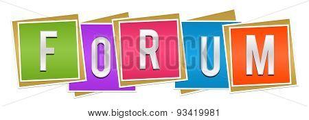 Froum Colorful Blocks