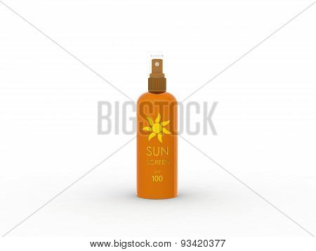 sunscreen spray
