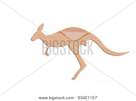 Kangaroo Shape Paper Box