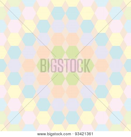 The Pattern Of Hexagons