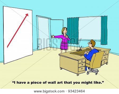 Business Growth Wall Art