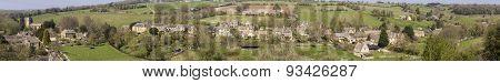 Cotswold Village Of Naunton, Gloucestershire,uk
