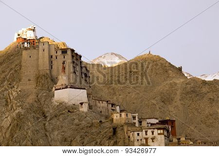 Leh Palace On The Hill