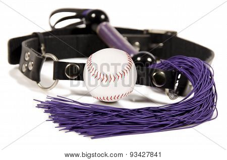 Baseball Ball And Whip