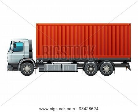 Truck With Cargo