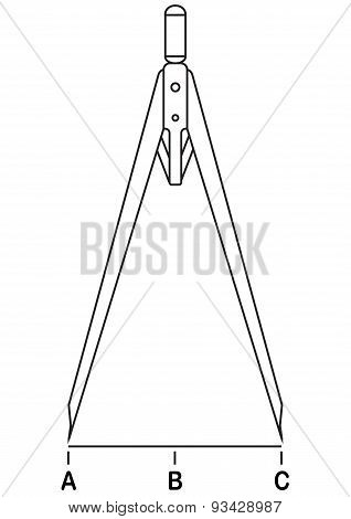 Caliper Compasses