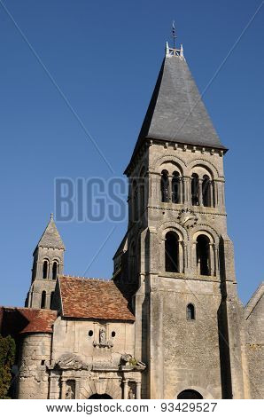 France, The Gothic Church Of Morienval In Picardie