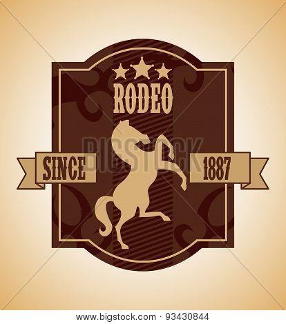 western label design