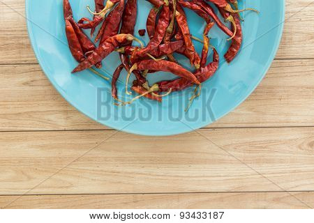 Dried Red Chilli, Thai Food Ingredient