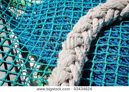 Boat fishing nets