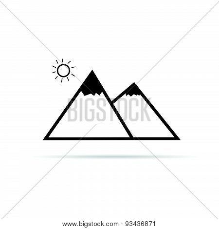 Pyramid Cartoon Vector